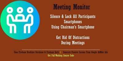 Meeting Monitor - Android Source Code