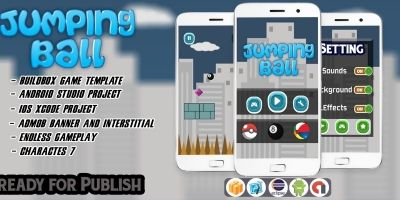 Jumping Ball - Buildbox Template