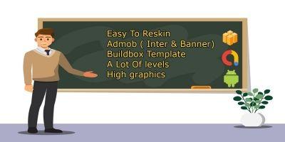 Kids Math School - Buildbox Template