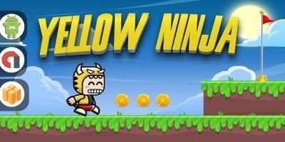 Yellow Ninja - Buildbox Template