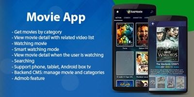Movie App Template - Android Source Code