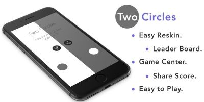 Two Circles - iOS Source Code