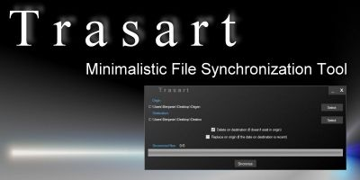 Trasart -  File Synchronization Tool .NET