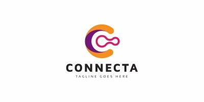 Connecta C Letter Logo