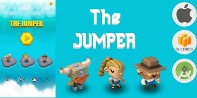The Jumper Full Buildbox Game Tempalte