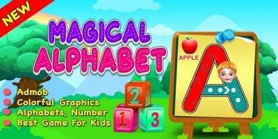 Magical Alphabets - Kids Education Game iOS