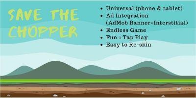 Save the Chopper - Buildbox Template