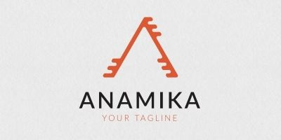 Anamika A Letter Logo