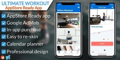 Ultimate Workout iOS Application