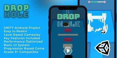 Drop Hole - Hyper Casual Unity Template