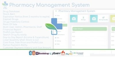 Pharmacy Management System Script