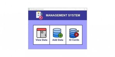AM Data Management System Script
