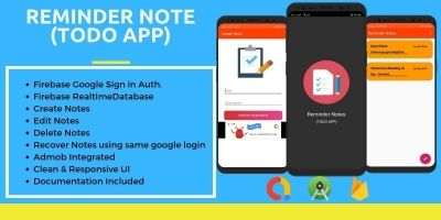 Reminder Notes - Android Source Code
