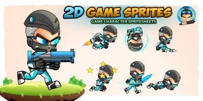 Saber 2D Game Sprites