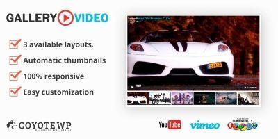 Gallery Play Video WordPress Plugin