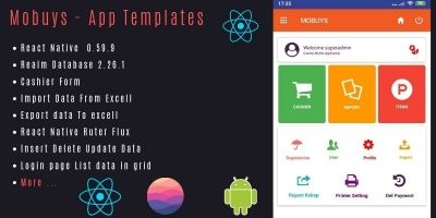 Mobuys Application Template React Native