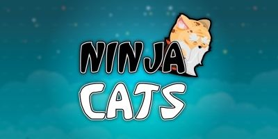 Ninja Cats 2D Game Character Set