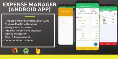 Expense Manager - Android Source Code