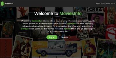 MoviesInfo Website Script