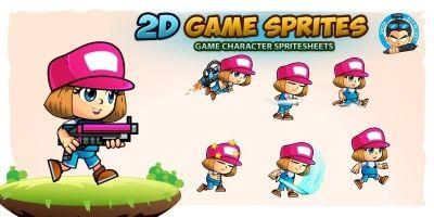 Georja 2D Game Character Sprites