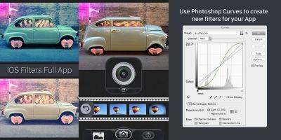 iOS Camera Filters Full App