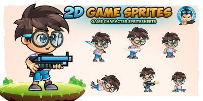 GeekBoy 2D Game Sprites