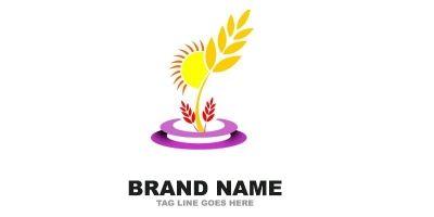 Wheat World Logo Template