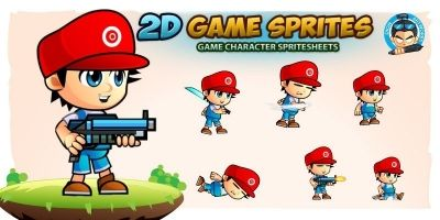 Marlo 2D Game Sprites