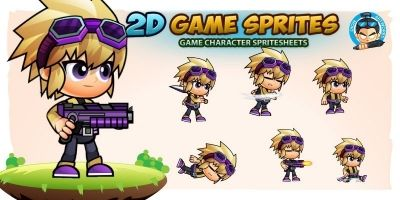 Fern 2D Game Character Sprites