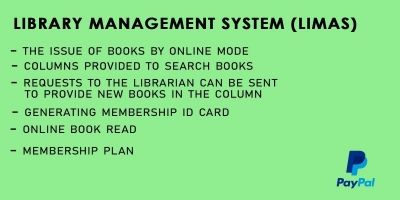 Library Management System Script PHP