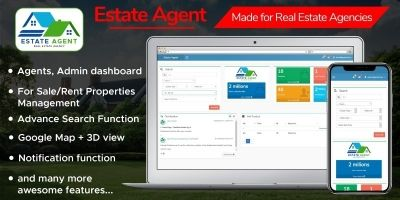EstateAgent - Real Estate Management System .NET
