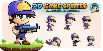 Joash 2D Game Character Sprites