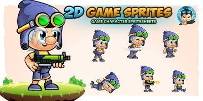 William Game Character Sprites