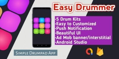 Easy Drummer - Android Source Code