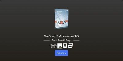VamShop 2 eCommerce CMS
