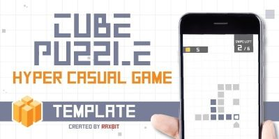 Cube Puzzle – Buildbox Game Template