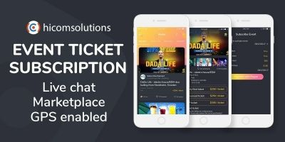 Event Tickets Marketplace - Subscription - Android