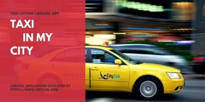 Taxi Listing PHP Laravel Script