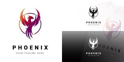 Phoenix - Colorful Logo Template