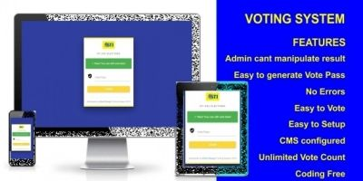 Voting System PHP Script