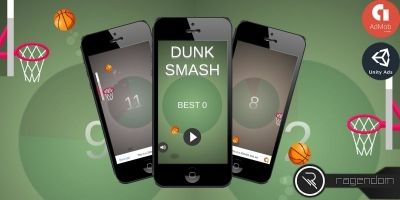 Dunk Smash - Complete Unity Game