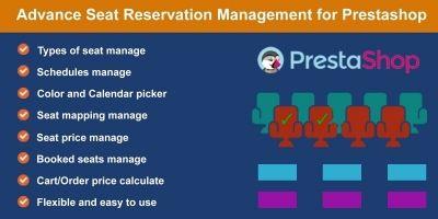 Seat Reservation Booking for PrestaShop
