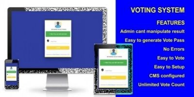 Voting System With Android And iOS App
