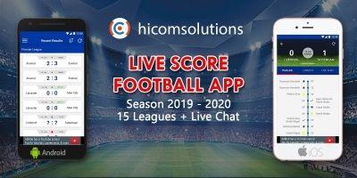 Livescore Football App Season 2019-20 For Android