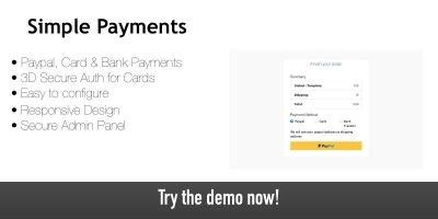 Simple Payments - Payment Gateway Script