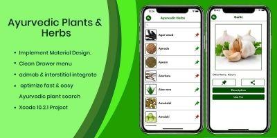 Ayurvedic Plants And Herbs - iOS Source Code