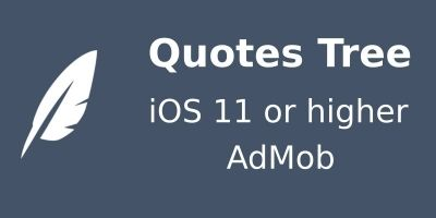 Quotes Tree - iOS Source Code