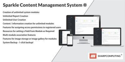 Sparkle Content Management System