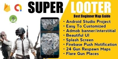 Super  Looter - Map Guide For PUBG Android