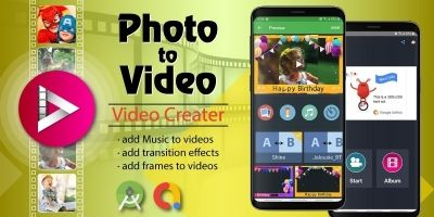 Image to Video Creator - Android Source Code